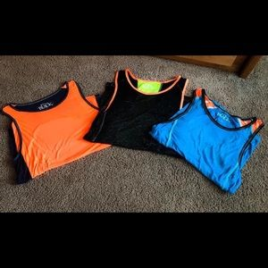 Boys Bundle Buckle Black Tanks